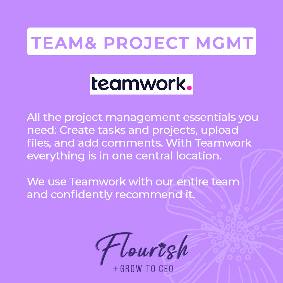 We Recommend Teamwork!