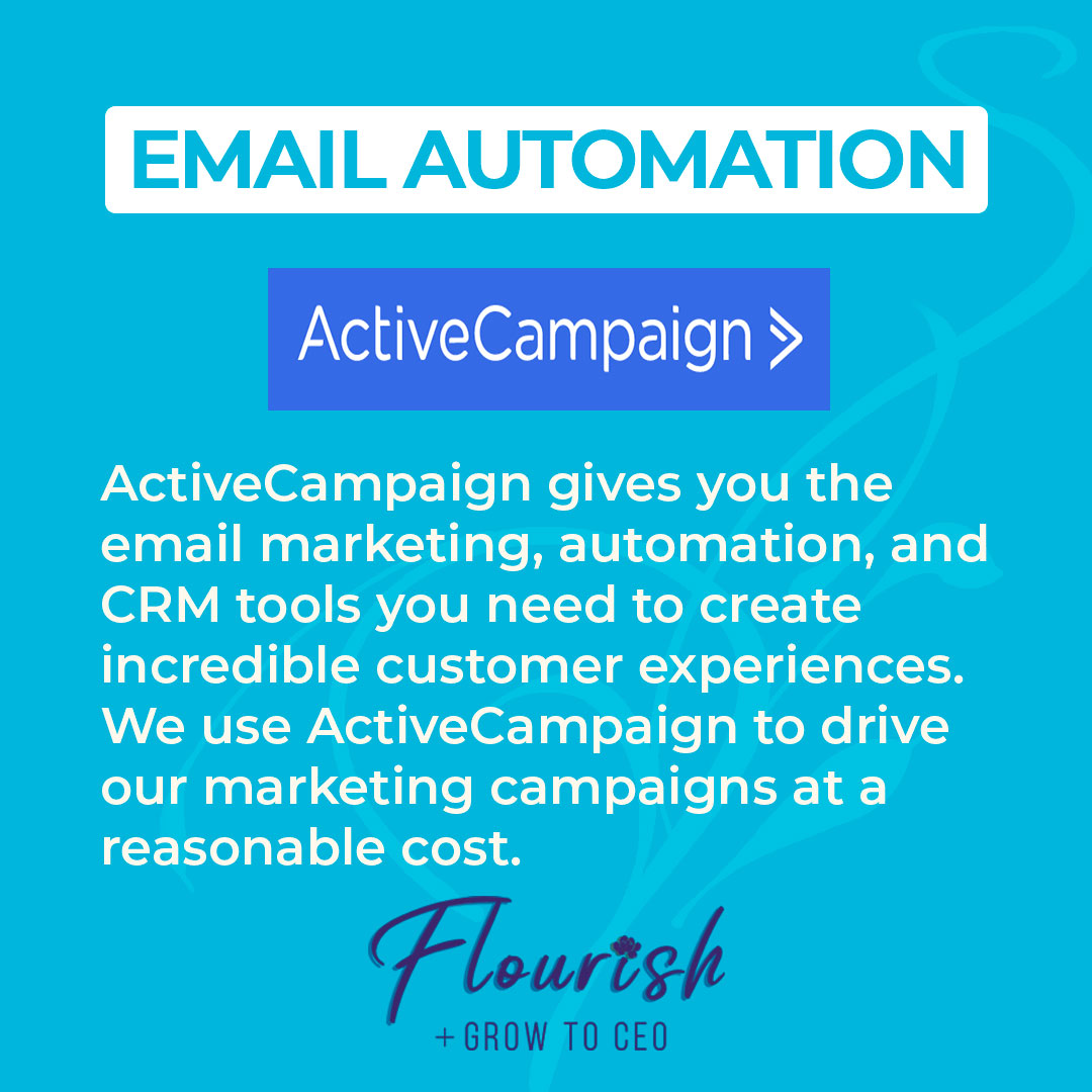 We Recommend ActiveCampaign