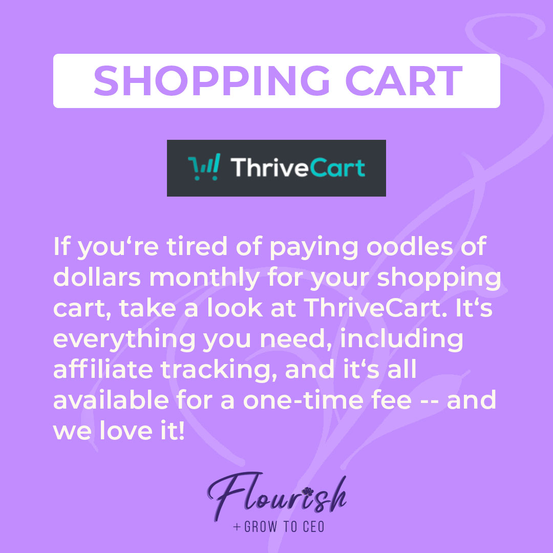 We Recommend Thrivecart
